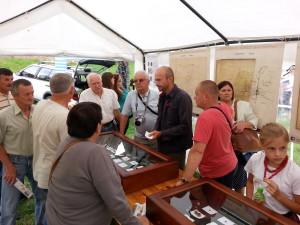 Muzeum polowe na festynie - bezpośredni kontakt z badaczem podnosi zainteresowanie wydarzeniem