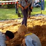 Łódź - festyn historyczny Pod Katedrą, atrakcje archeologiczne dla dzieci