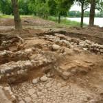 Ełk zamek - odsłonięte relikty