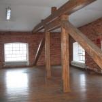 Przykładowe wnętrza budynków pofabrycznych.