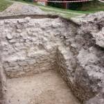 Danków zamek - relikty Domu Kasztelanowej