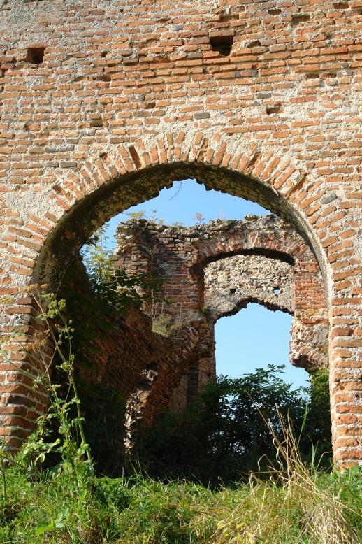 Danków, zamek - Ruiny Bramy Krzepickiej