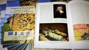 """książka: R. Herman """"Zamek w Dankowie. Tajemnice przeszłości od średniowiecza do XVII wieku"""""""