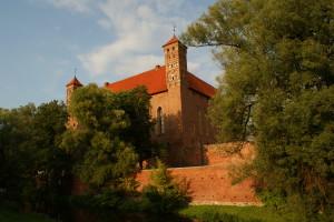 Zamek w Lidzbarku Warmińskim - widok znad Łyny (zdjęcie już archiwalne, fot. R. Herman).