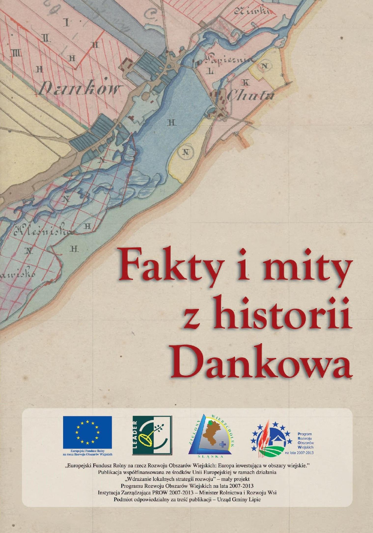 """książka """"Zamek w Dankowie..."""" - okładka"""