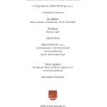 """R. Herman, """"Zamek w Dankowie. Tajemnice przeszłości od średniowiecza do XVII wieku"""" - strona redakcyjna"""