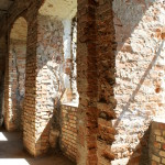 Wnętrza zamku w Ełku