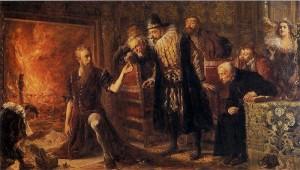 Alchemik Sedziwoj - obraz Jana Matejki