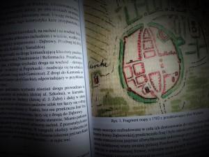 Wieluń na planie z 1702 r.