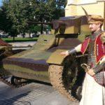 Husarz i czołg