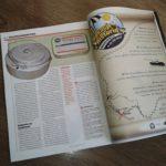 Plakat w kwietniowym numerze czasopisma Odkrywca