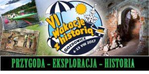 Baner - VI Wakacje z Historią