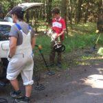 przygotowanie do eksploracji Gozdowice 2017