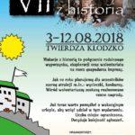 VII Wakacje z Historią. Kłodzko 2018