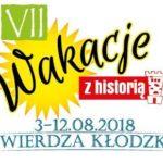 Logo znaczka'koszulek VII Wakacji z Historią